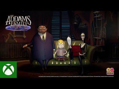 The Addams Family Mansion Mayhem — Gameplay Trailer