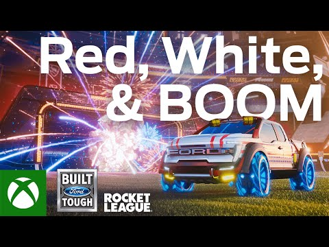 Rocket League — Ford F-150 Red, White & Boom Bundle