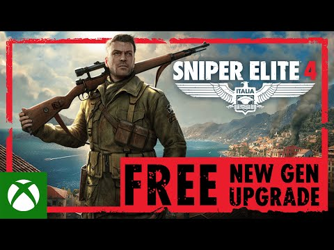 Sniper Elite 4 — FREE New Gen Upgrade   Xbox Series X S