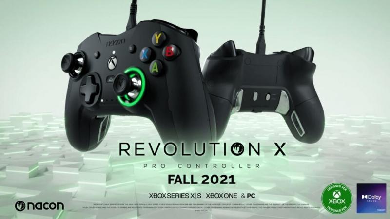 Анонсирован новый контроллер Revolution X Pro от Nacon для Xbox