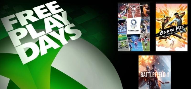 Battlefield 1, Olympic Games Tokyo 2020 и Cobra Kai временно бесплатны для подписчиков Xbox Live Gold / Xbox Game Pass Ultimate