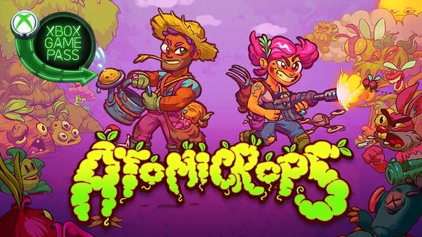 Скидка на игру Xbox Библиотеку Xbox Game Pass пополнила Atomicrops —
