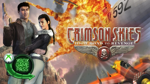 Скидка на игру Xbox Библиотеку Xbox Game Pass пополнила Crimson Skies: High Road to Revenge —