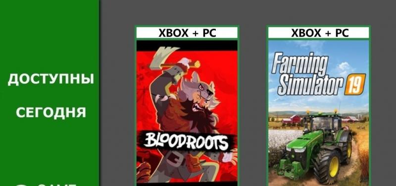 Bloodroots и Farming Simulator 19 добавлены в Xbox Game Pass