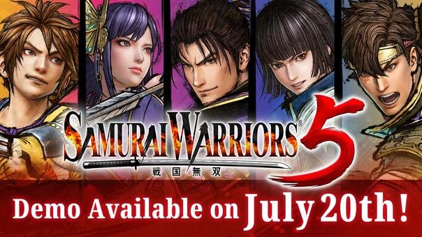 Скидка на игру Xbox Демоверсия Samurai Warriors 5 должна появиться в Microsoft Store 20 июля.