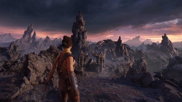 Epic Games представила первый скриншот технодемо Unreal Engine 5 на Xbox Series X от авторов Gears