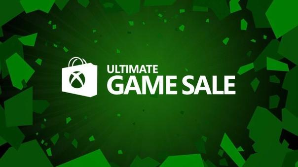 Скидка на игру Xbox Есть подозрение, что сегодня начнётся ежегодная распродажа Ultimate Game Sale.