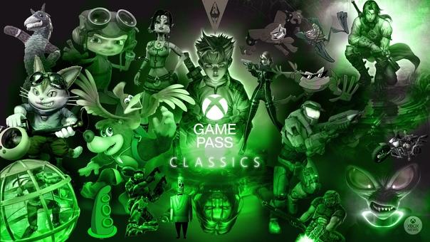 Классика Xbox вместе с Xbox Game Pass