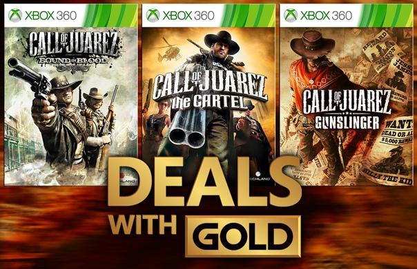 Скидка на игру Xbox Немного скидок на игры серии Call of Juarez из текущей еженедельной распродажи Deals With Gold.