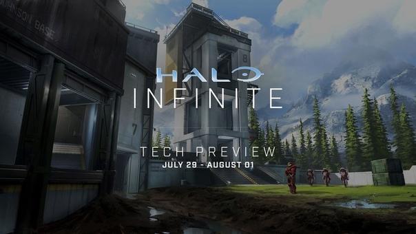 Скидка на игру Xbox С 29 июля по 1 августа пройдёт техническое тестирование Halo Infinite.