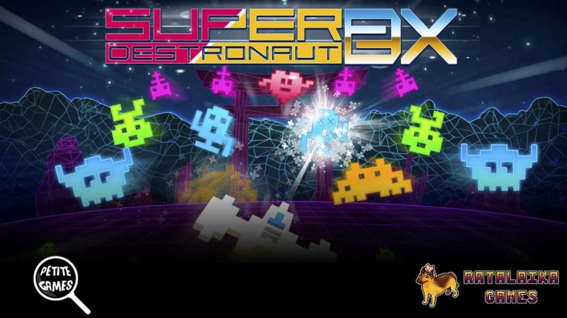 Super Destronaut DX-2 Is Now Available For Xbox One And Xbox Series X S