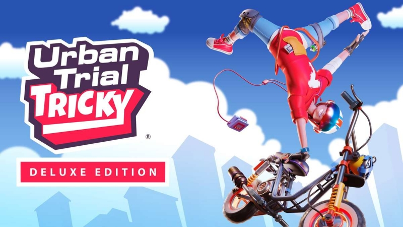 Urban Trial Tricky Deluxe Edition Is Now Available For Xbox One And Xbox Series X S
