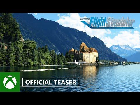 Microsoft Flight Simulator: Germany, Austria, Switzerland World Update Teaser — gamescom 2021