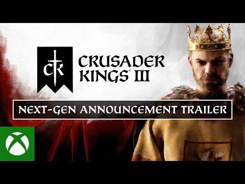 Crusader Kings III — Xbox Announcement Trailer