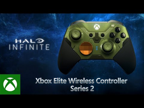Xbox Elite Wireless Controller Series 2 — Halo Infinite Limited Edition
