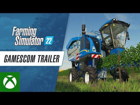 Farming Simulator 22 — gamescom Trailer