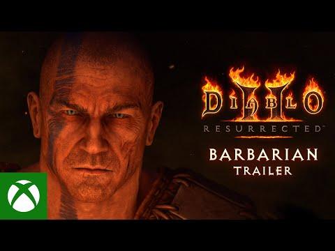 Diablo® II: Resurrected™ | Barbarian Class Trailer