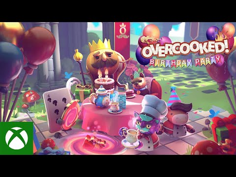 Overcooked! All You Can Eat — Birthday Party Update
