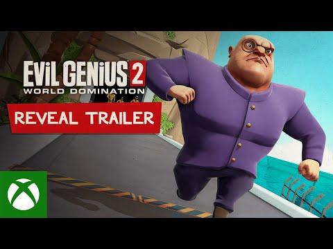 Evil Genius 2: World Domination — Reveal Trailer