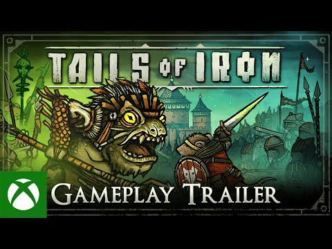 Tails of Iron — Gameplay Trailer: A Warrior. A Hero. A King.