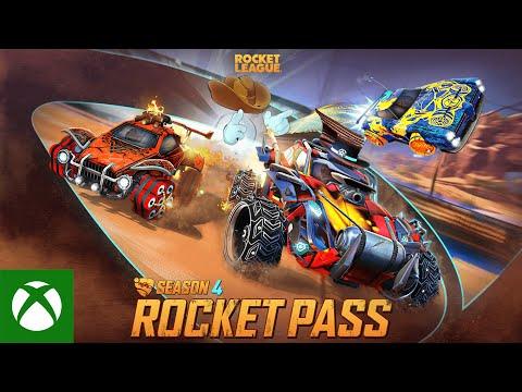 Rocket League Season 4 Rocket Pass Trailer