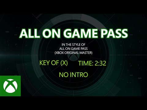 Xbox Game Pass — All on Game Pass [Official Lyric Music Video]