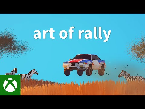 art of rally Xbox & Game Pass Launch Trailer