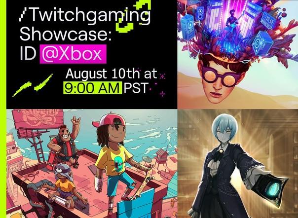Скидка на игру Xbox 10 августа (19:00 МСК) начнётся совместное шоу Xbox и Twitch с инди-проектами в рамках программы ID@Xbox