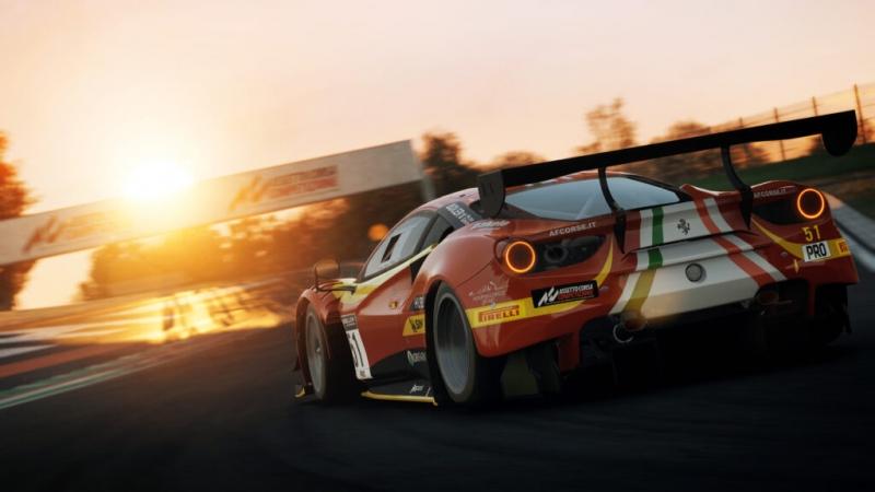 Assetto Corsa Competizione обновят до Xbox Series X | S и Playstation 5: показан геймплей