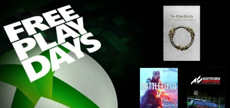 Battlefield V, Assetto Corsa Competizione и The Elder Scrolls Online временно бесплатны для подписчиков Xbox Live Gold / Xbox Game Pass Ultimate