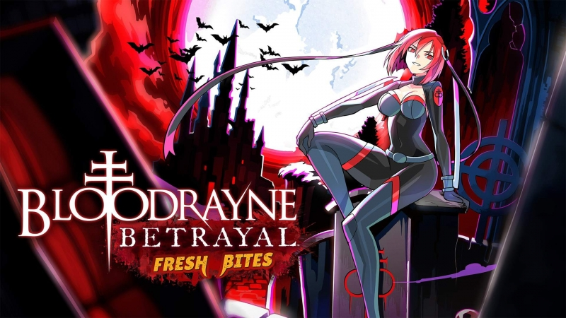 BloodRayne Betrayal: Fresh Bites Is Now Available For Digital Pre-order And Pre-download On Xbox One And Xbox Series X S