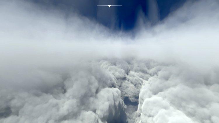 Игроки показали, как в Microsoft Flight Simulator выглядит ураган «Ида», который недавно обрушился на США