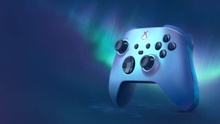 Microsoft представила синий геймпад Aqua Shift Special Edition для Xbox Series X и Series S
