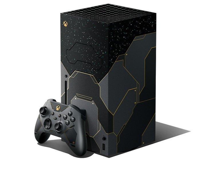 Microsoft выпустит специальную Xbox Series X в стиле Halo Infinite — консоль оценили в 55 990 рублей