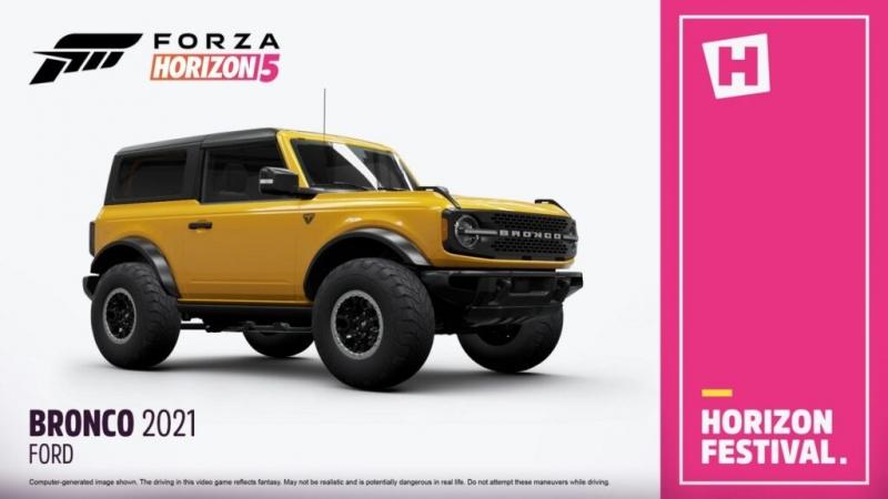 Новый трейлер Forza Horizon 5 посвятили автомобилю Ford Bronco Badlands