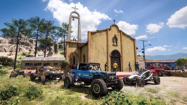 Создатели Forza Horizon 5 показали полную карту и поездки на Toyota Supra