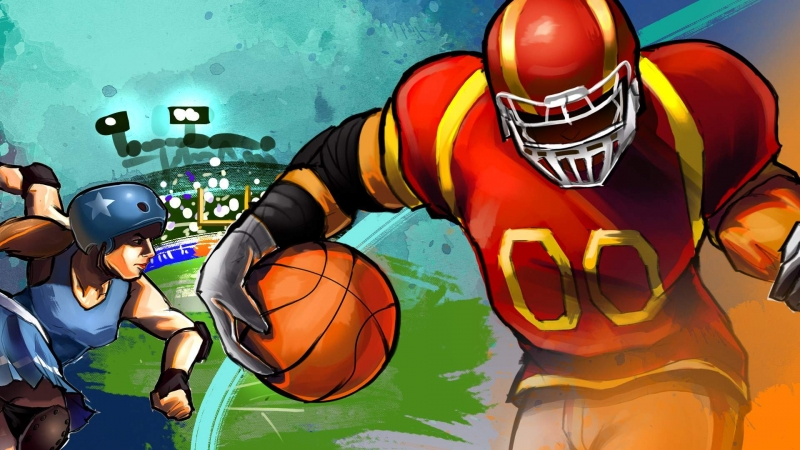Super Slam Dunk Touchdown Is Now Available For Xbox One And Xbox Series X|S