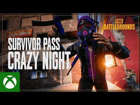 PUBG Survivor Pass: Crazy Night