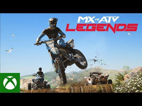 MX vs ATV: Legends — Announcement Trailer
