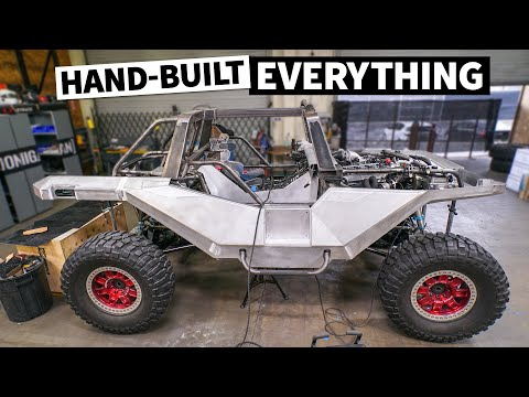 Making our 1,000hp HALO Warthog off-road READY! 1 of 1 hand-built METAL Warthog body & HUGE brakes!