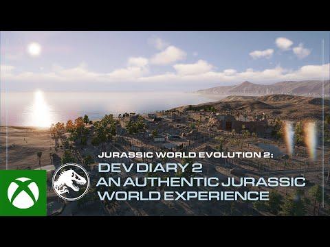 Jurassic World Evolution 2 | Developer Diary #2 | An Authentic Jurassic World Experience