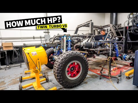 World's most powerful Halo WARTHOG! Dyno Day for our 1,000hp Twin Turbo V8 video game war machine!