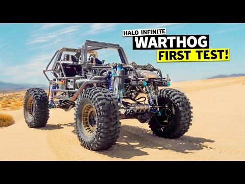 1ST SHRED TEST! 1,000hp #Halo #WARTHOG scumbag stress test in the desert