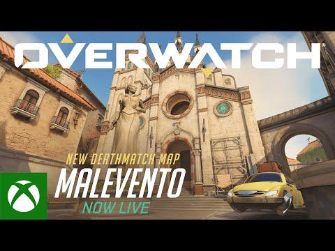 Overwatch Malevento Map