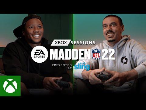 Saquon Barkley vs. GoodgameBro in Madden NFL 22   Xbox Sessions