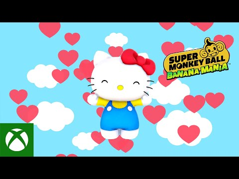 Super Monkey Ball Banana Mania   Hello Kitty Joins the Gang