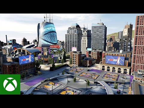 NBA 2K22 City Trailer
