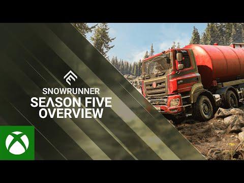 SnowRunner — Season 5 Overview Trailer