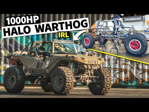 WE BUILT A REAL HALO WARTHOG WITH 1,000HP!