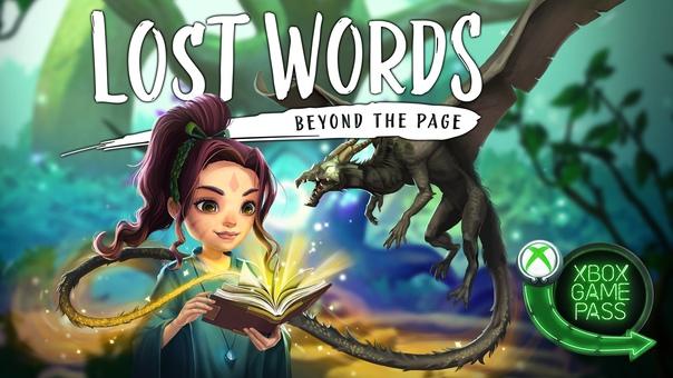 Скидка на игру Xbox Библиотеку Xbox Game Pass пополнила Lost Words: Beyond the Page –